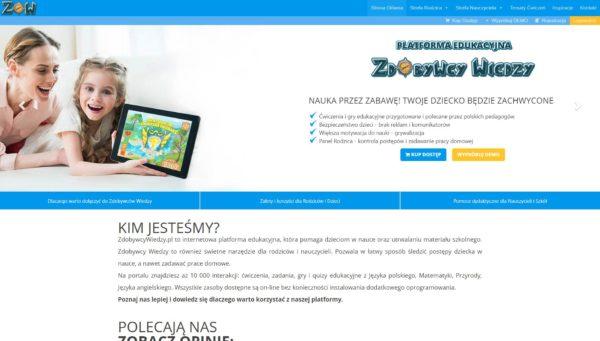 Zdobywcy Wiedzy - Website